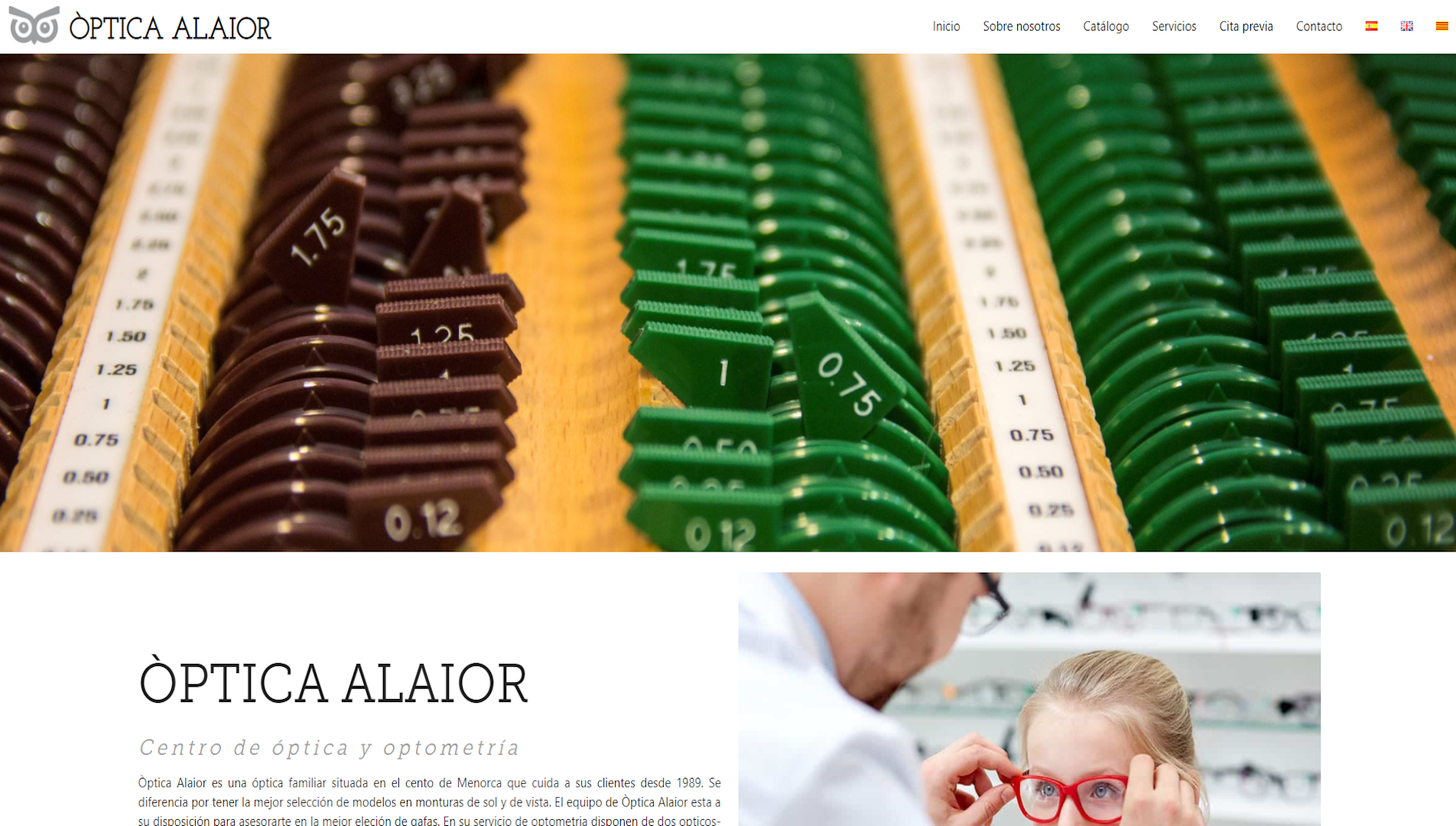 optica alaior